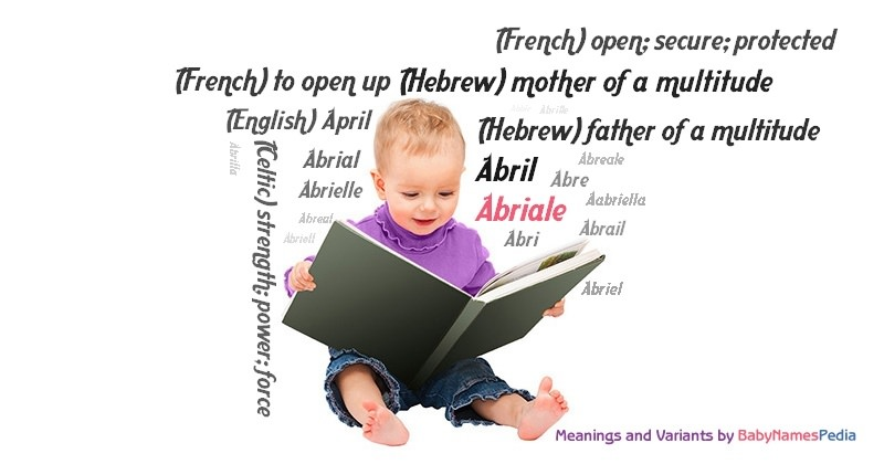 Meaning of the name Abriale
