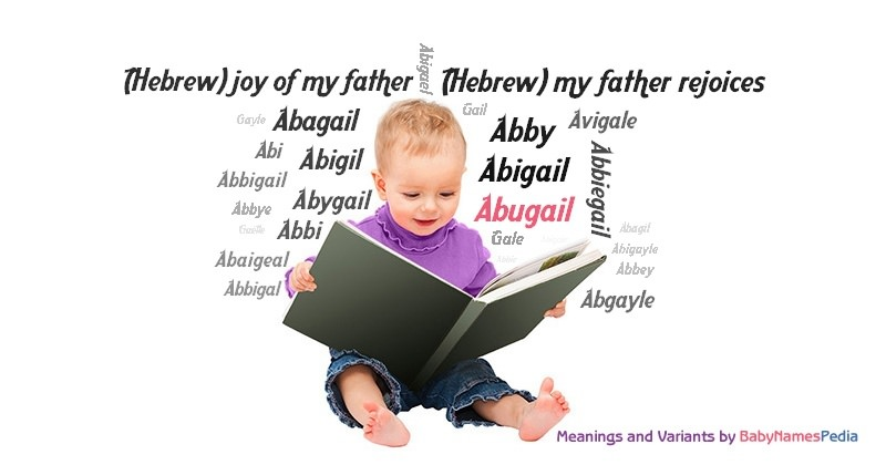 Meaning of the name Abugail