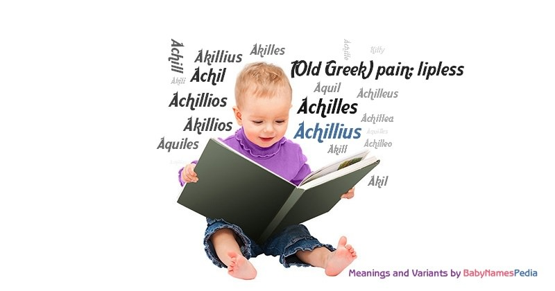 Meaning of the name Achillius