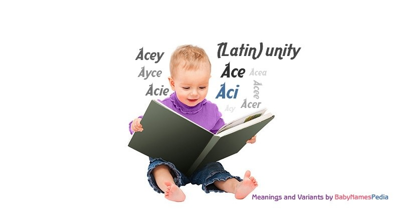 Meaning of the name Aci