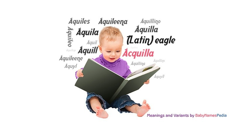 Meaning of the name Acquilla