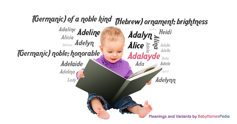 Meaning of the name Adalayde