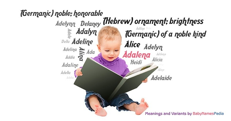 Meaning of the name Adalena