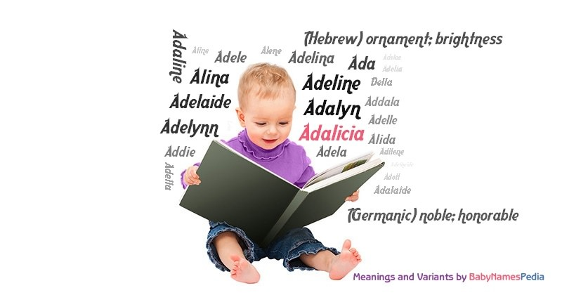 Meaning of the name Adalicia