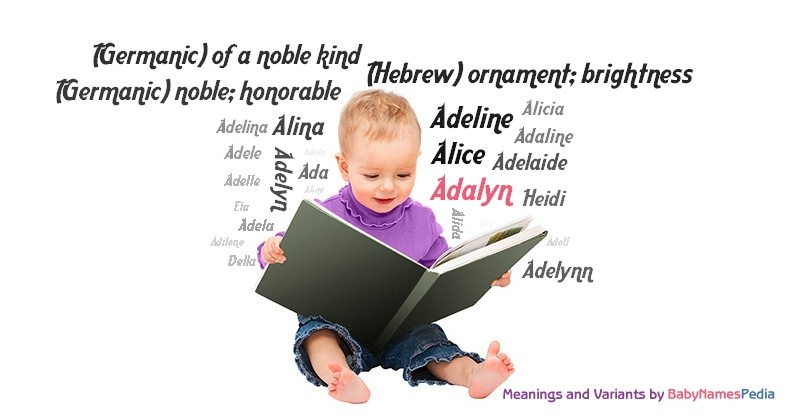 Meaning of the name Adalyn