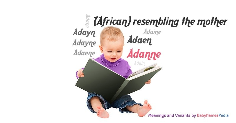 Meaning of the name Adanne