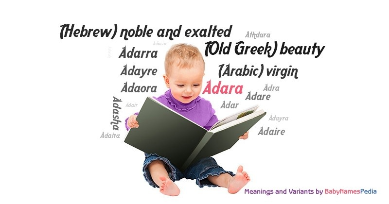 Meaning of the name Adara