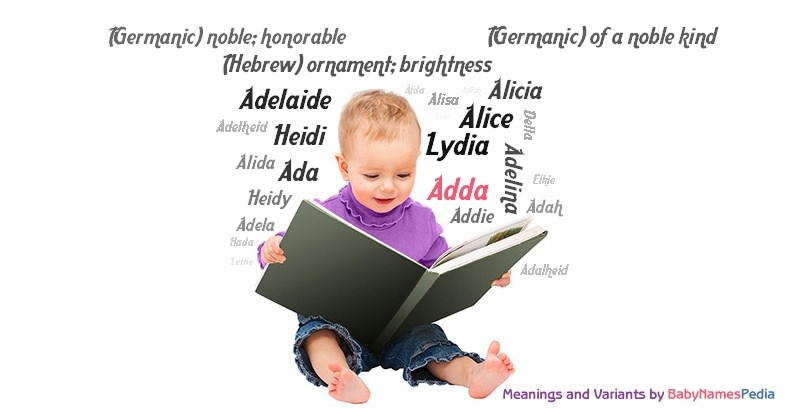 Meaning of the name Adda