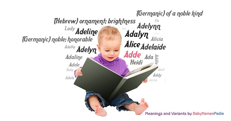 Meaning of the name Adde