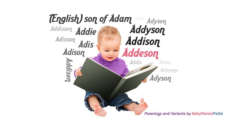 Meaning of the name Addeson