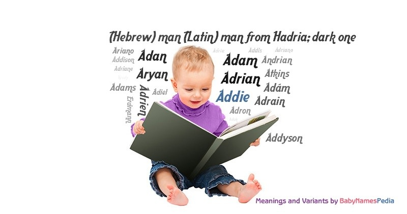 Meaning of the name Addie