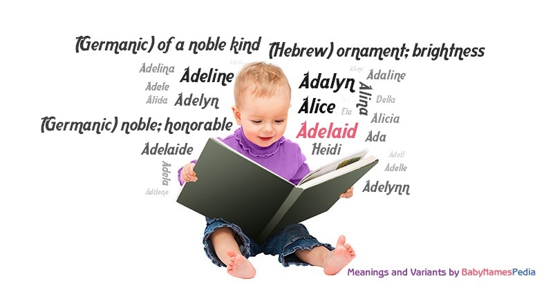 Meaning of the name Adelaid