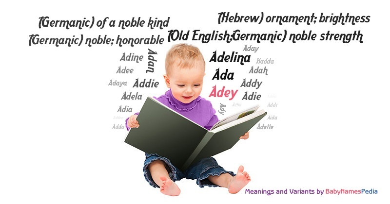 Meaning of the name Adey