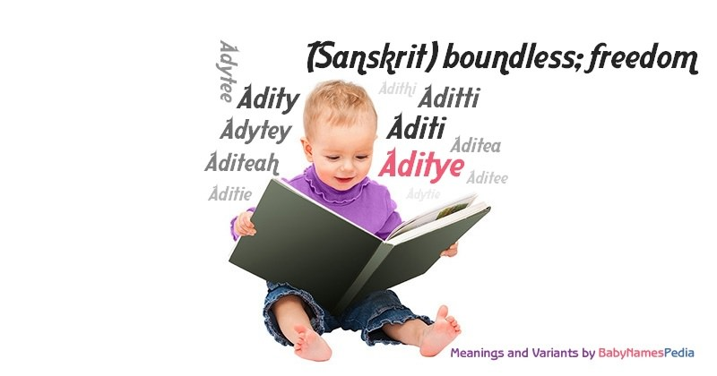 Meaning of the name Aditye