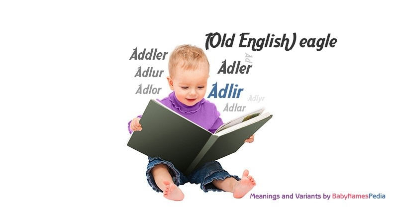 Meaning of the name Adlir