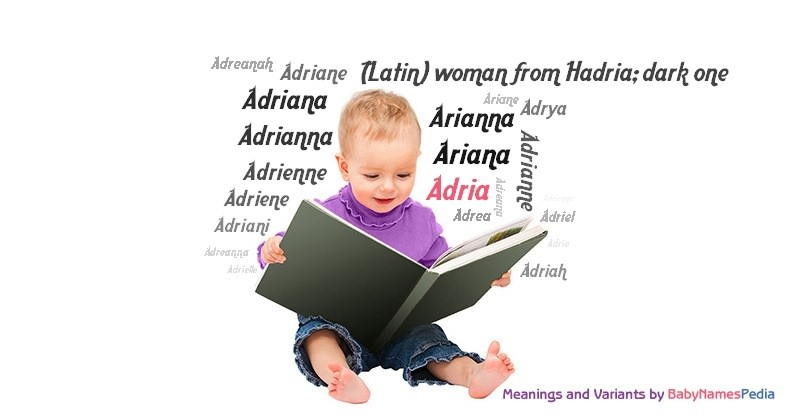Meaning of the name Adria