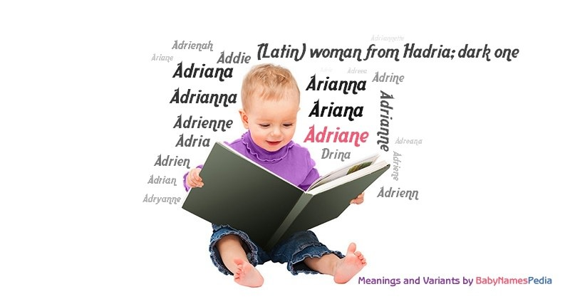Meaning of the name Adriane