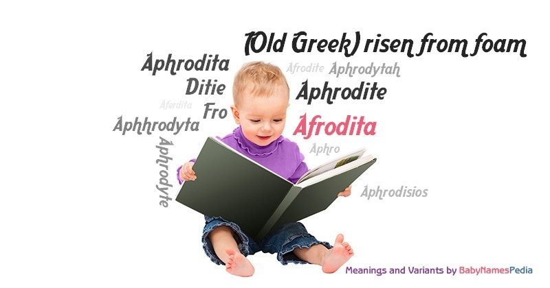Meaning of the name Afrodita