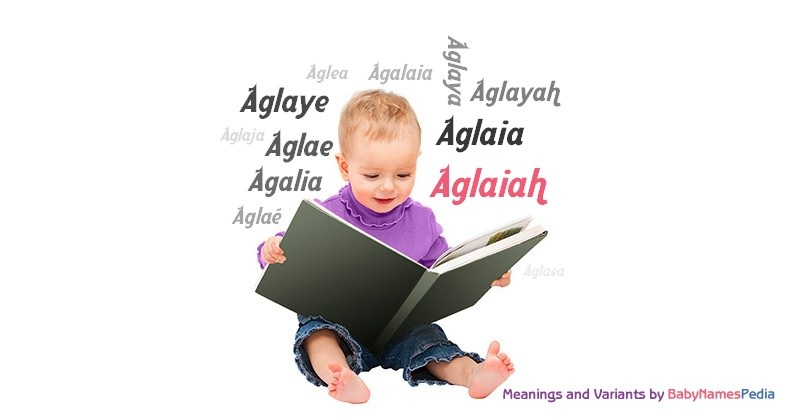 Meaning of the name Aglaiah