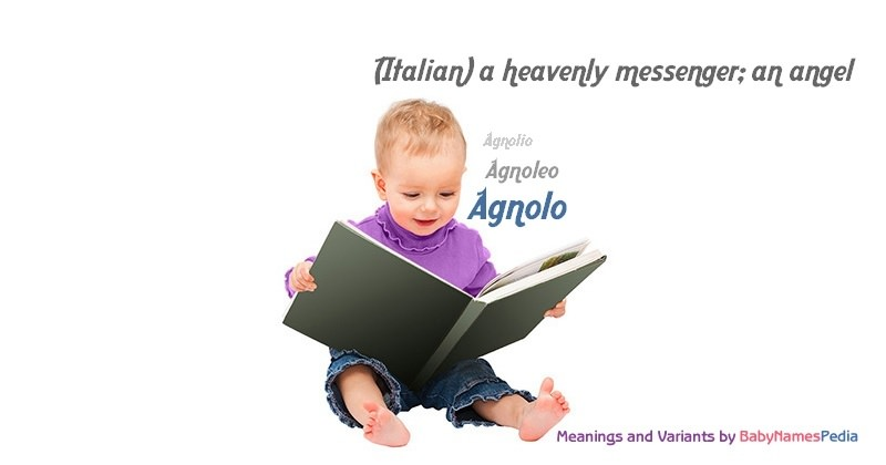 Meaning of the name Agnolo