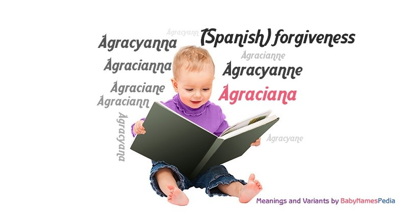 Meaning of the name Agraciana