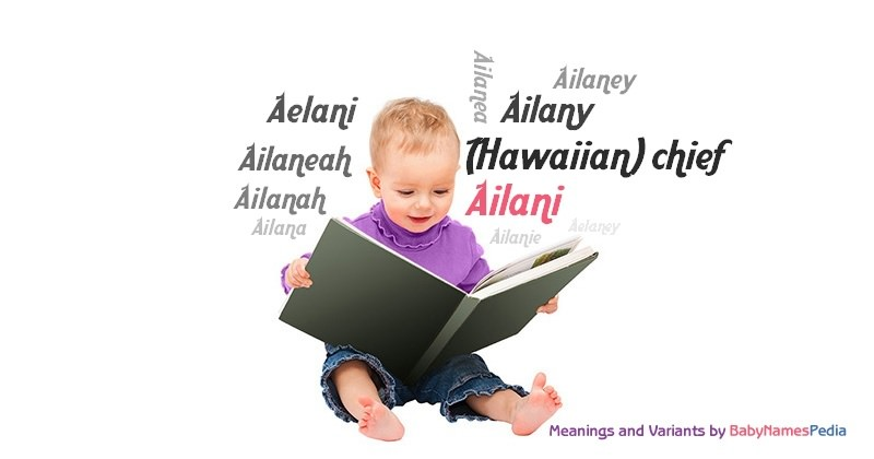 Meaning of the name Ailani