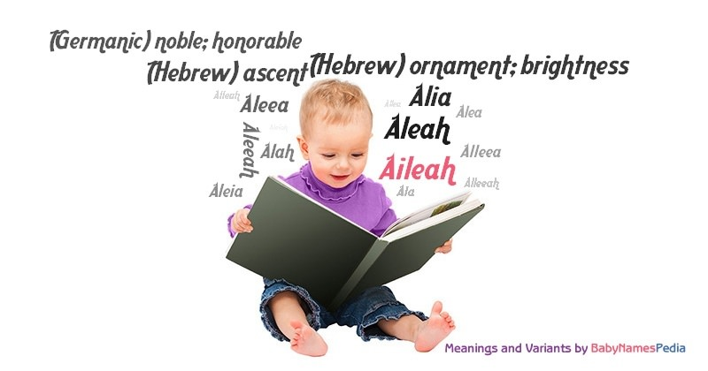 Meaning of the name Aileah