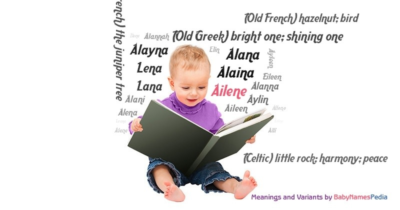 Meaning of the name Ailene