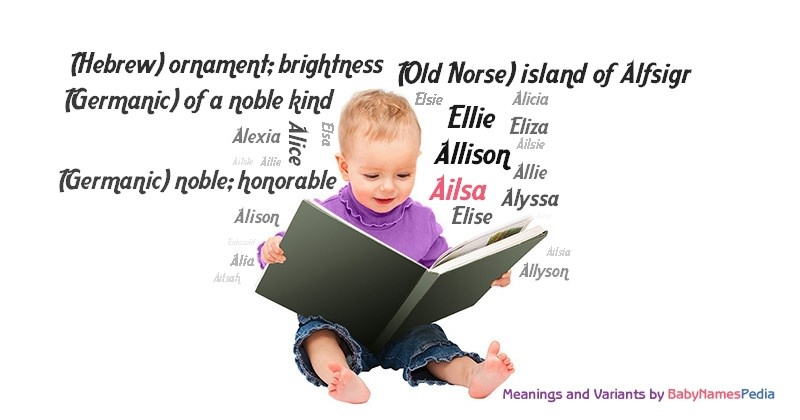 Meaning of the name Ailsa