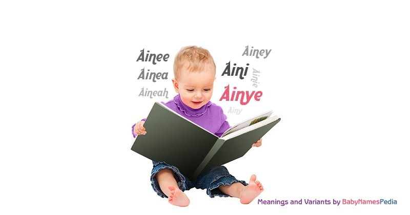 Meaning of the name Ainye