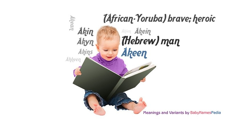 Meaning of the name Akeen