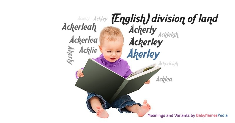 Meaning of the name Akerley