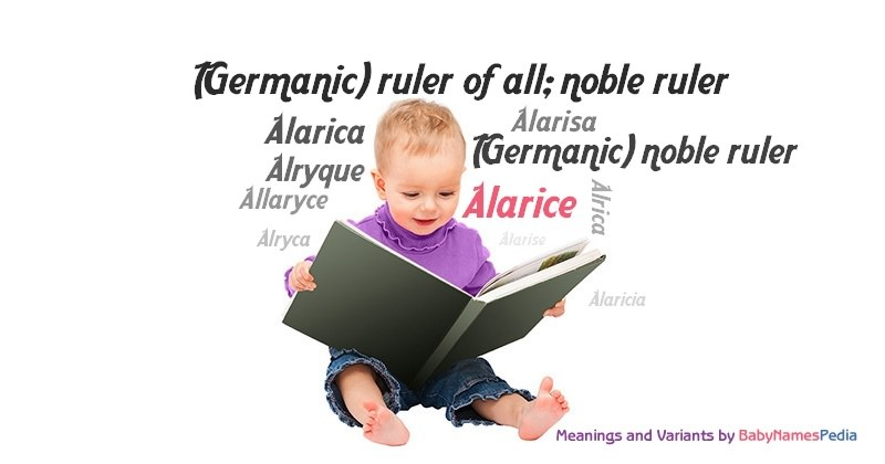 Meaning of the name Alarice