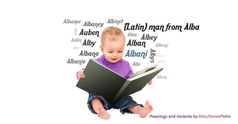 Meaning of the name Albani