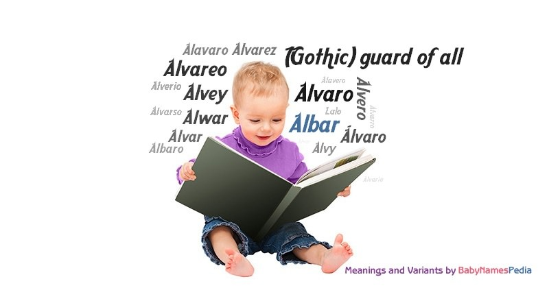 Meaning of the name Albar