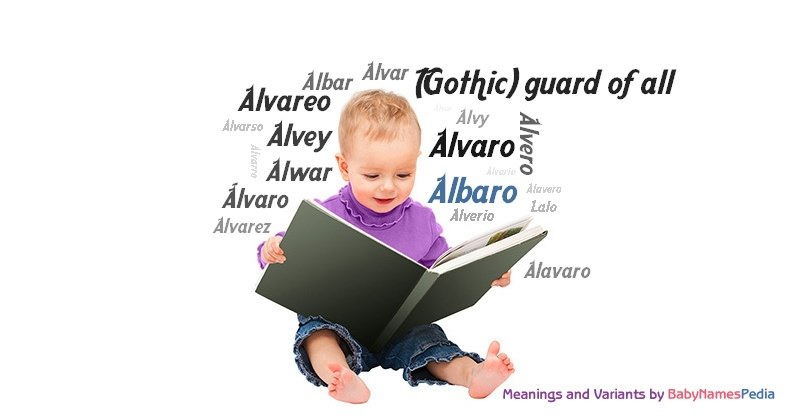 Meaning of the name Albaro