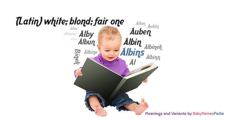 Meaning of the name Albins