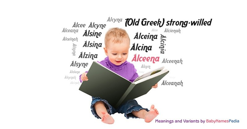 Meaning of the name Alceena
