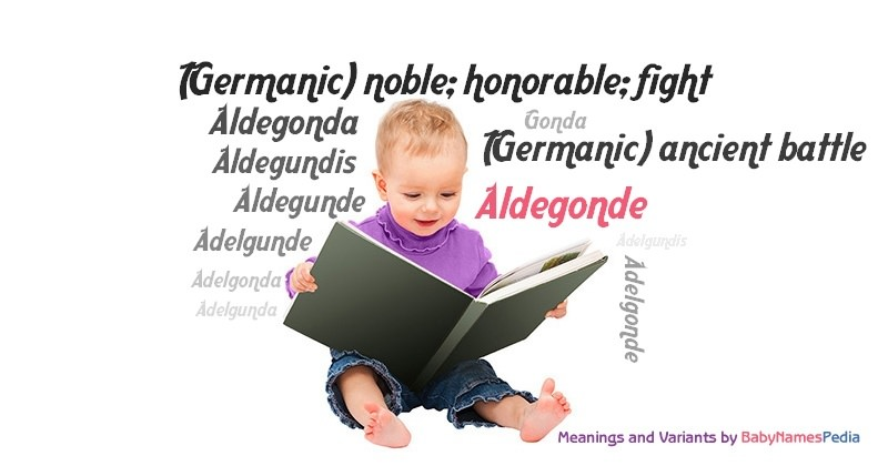 Meaning of the name Aldegonde