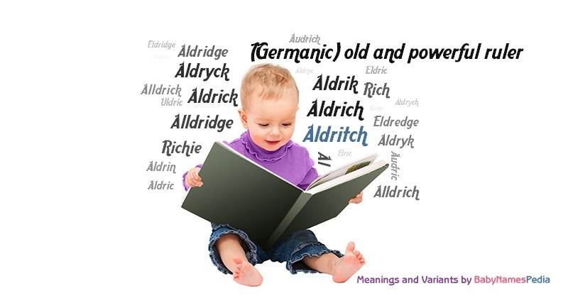 Meaning of the name Aldritch