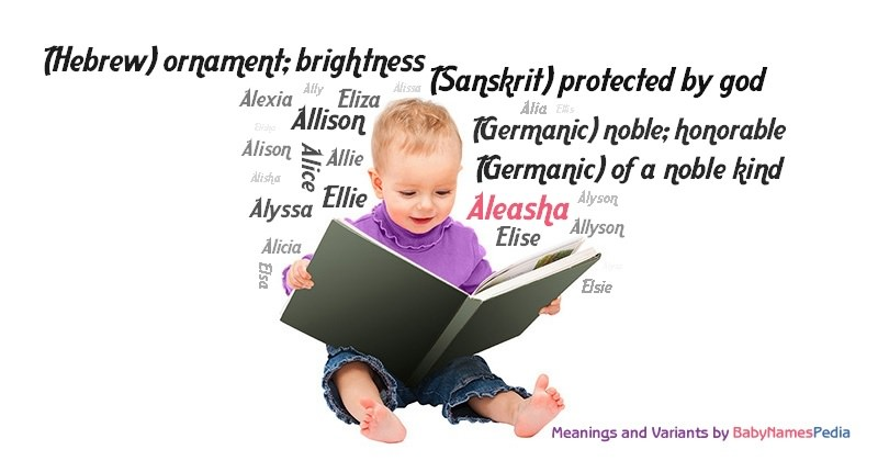 Meaning of the name Aleasha