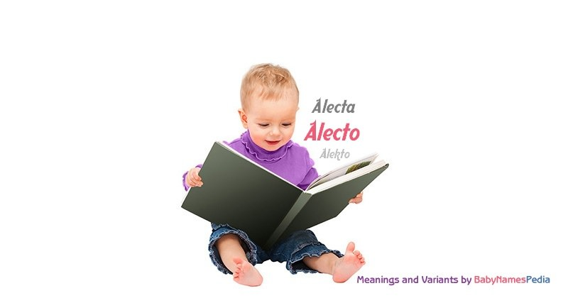 Meaning of the name Alecto