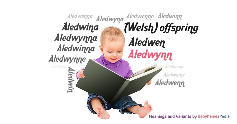 Meaning of the name Aledwynn