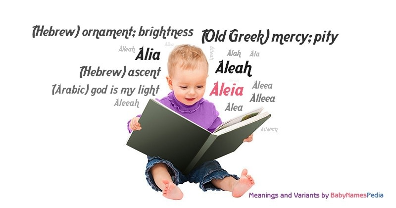 Meaning of the name Aleia