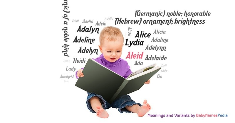 Meaning of the name Aleid