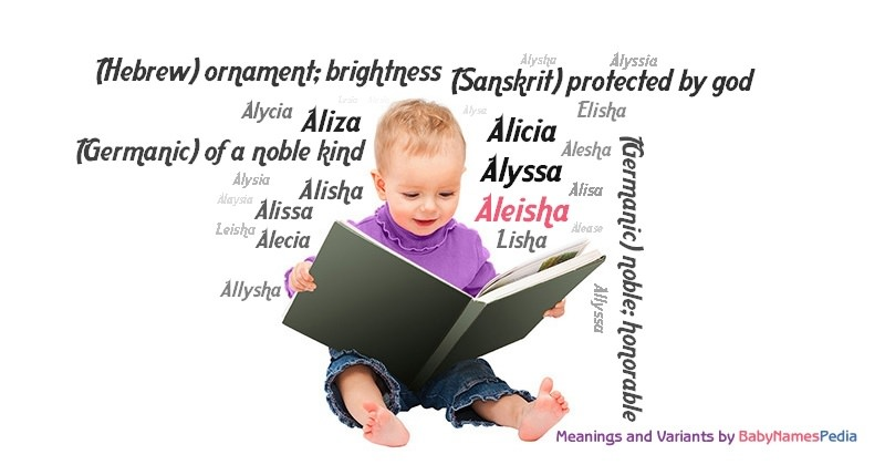 Meaning of the name Aleisha