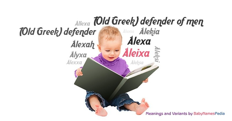 Meaning of the name Aleixa