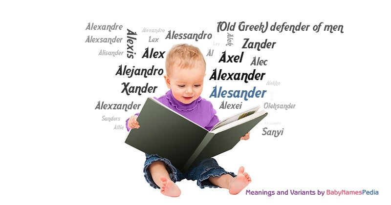 Meaning of the name Alesander