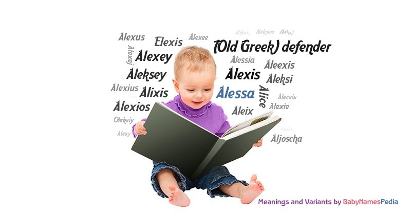 Meaning of the name Alessa