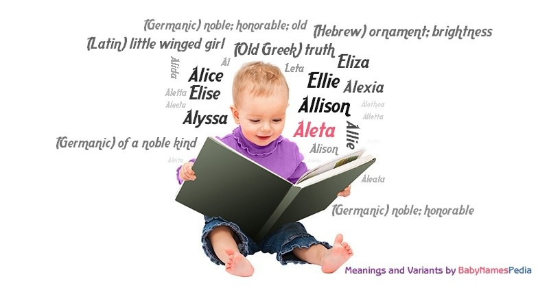 Meaning of the name Aleta
